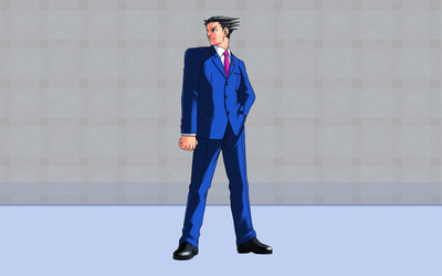 Phoenix Wright: Ace Attorney [3] wallpaper
