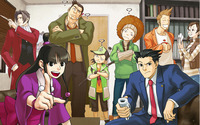 Phoenix Wright: Ace Attorney wallpaper 2880x1800 jpg