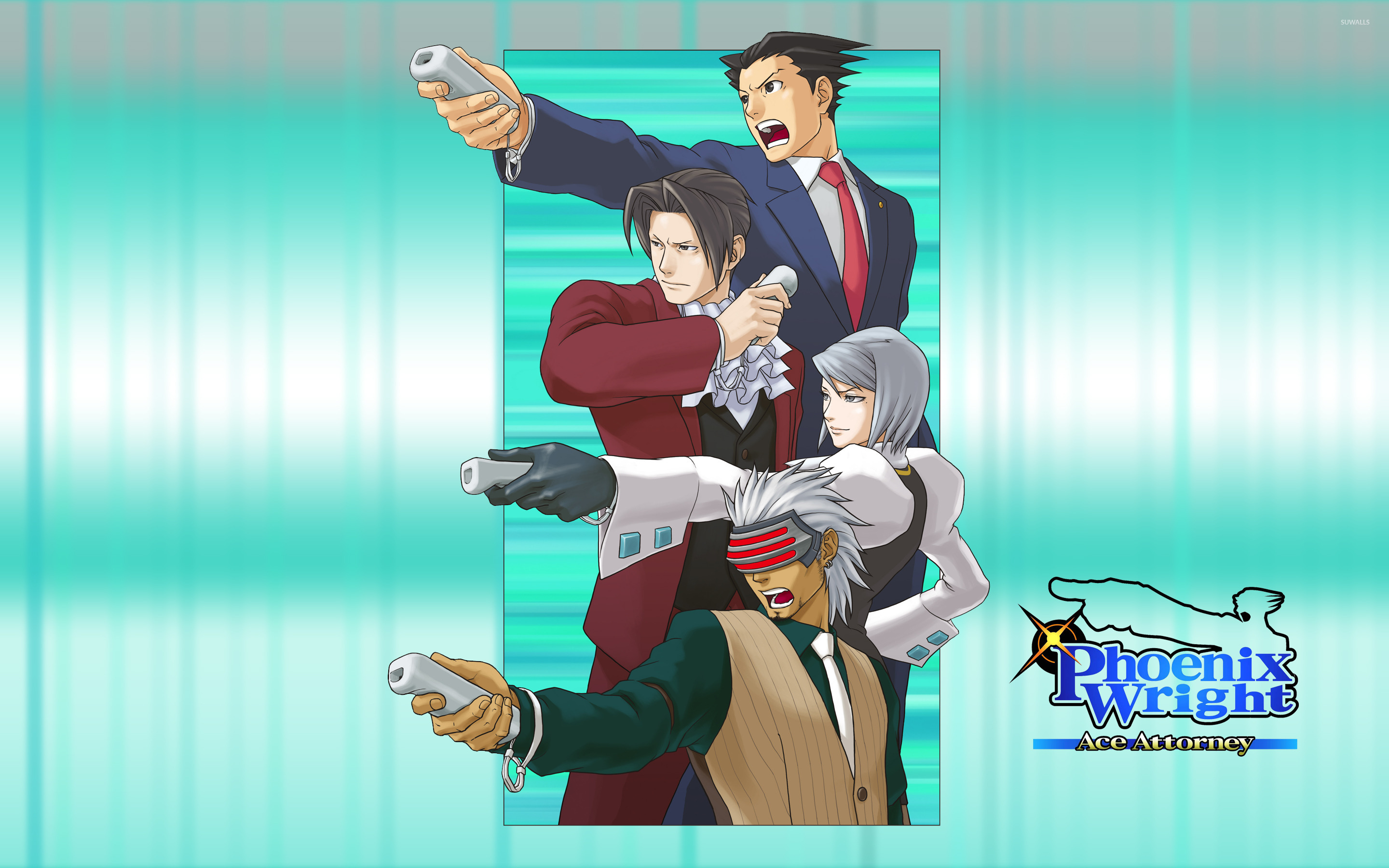 Phoenix Wright Ace Attorney 2 Wallpaper