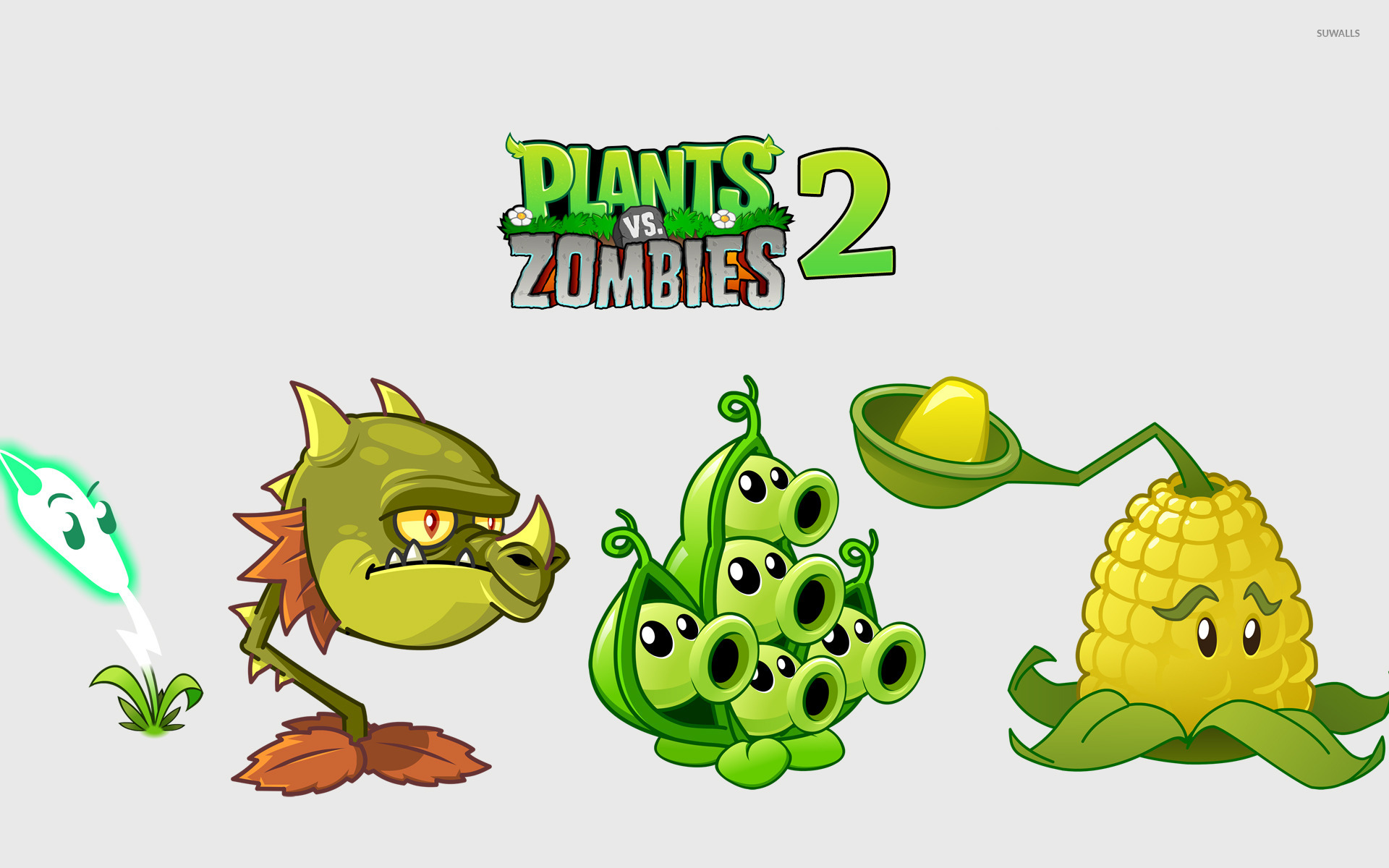 plants vs. zombies 2: it's about time wallpaper - game wallpapers