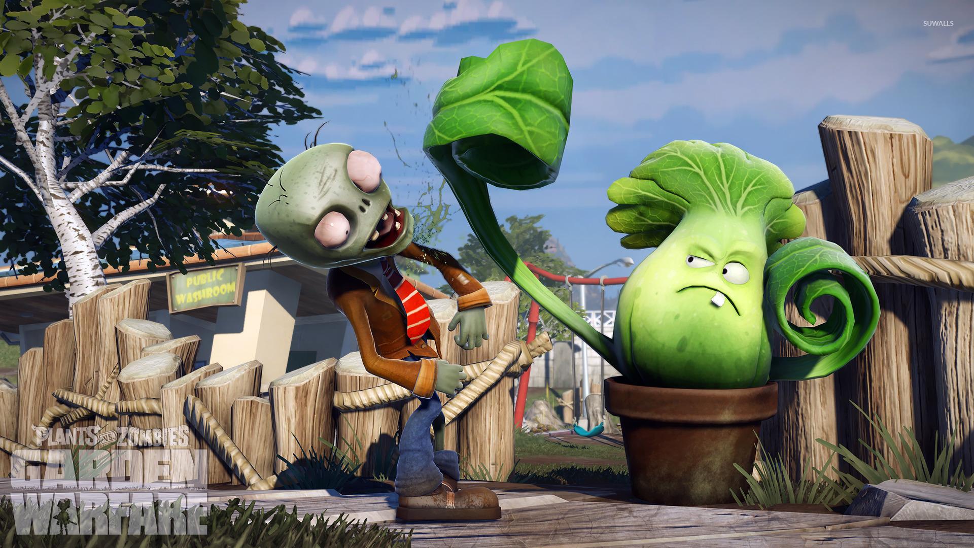 Plants Vs Zombies Garden Warfare 5 Wallpaper Game Wallpapers