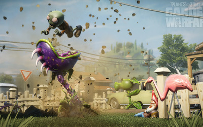 Plants vs. Zombies: Garden Warfare [4] wallpaper