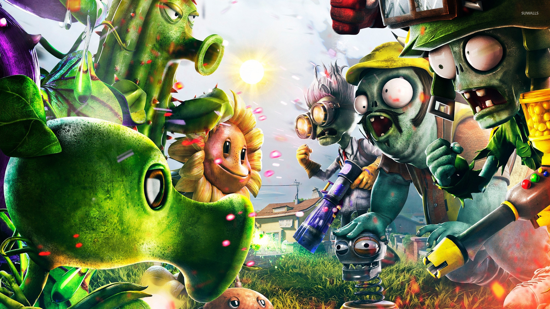 plants vs. zombies: garden warfare wallpaper - game wallpapers - #25699