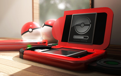 Pokedex booting wallpaper
