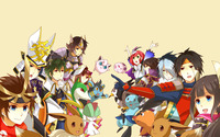 Pokemon Conquest wallpaper 1920x1200 jpg