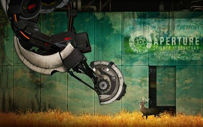 Portal [17] wallpaper