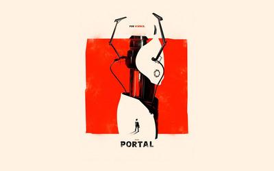 Portal [18] wallpaper
