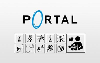 Portal [26] wallpaper