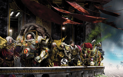 Primarch - Warhammer 40,000 wallpaper