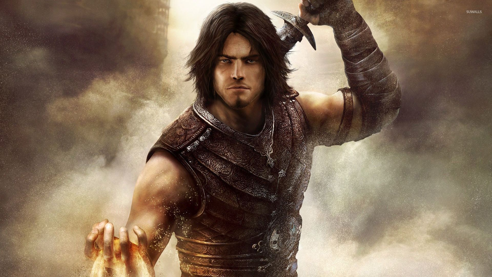 Prince Of Persia With A Sword Wallpaper