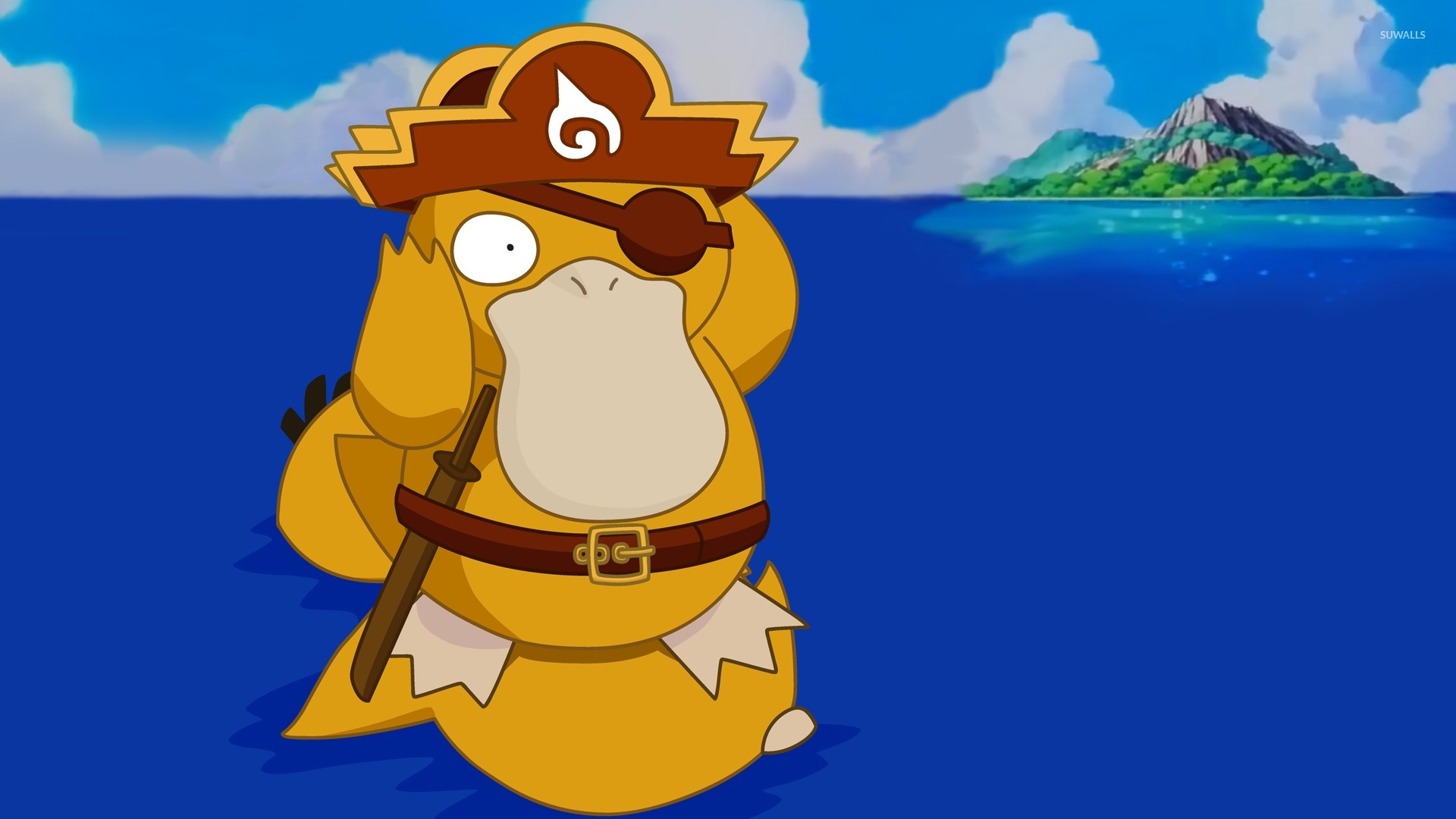 pokemon psyduck wallpaper 1920x1080 - photo #2