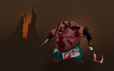 Pudge - Dota 2 wallpaper