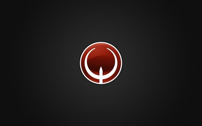 Quake logo wallpaper