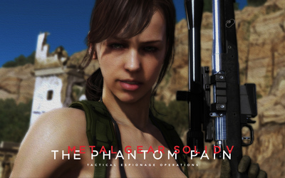 Quiet - Metal Gear Solid V: The Phantom Pain wallpaper