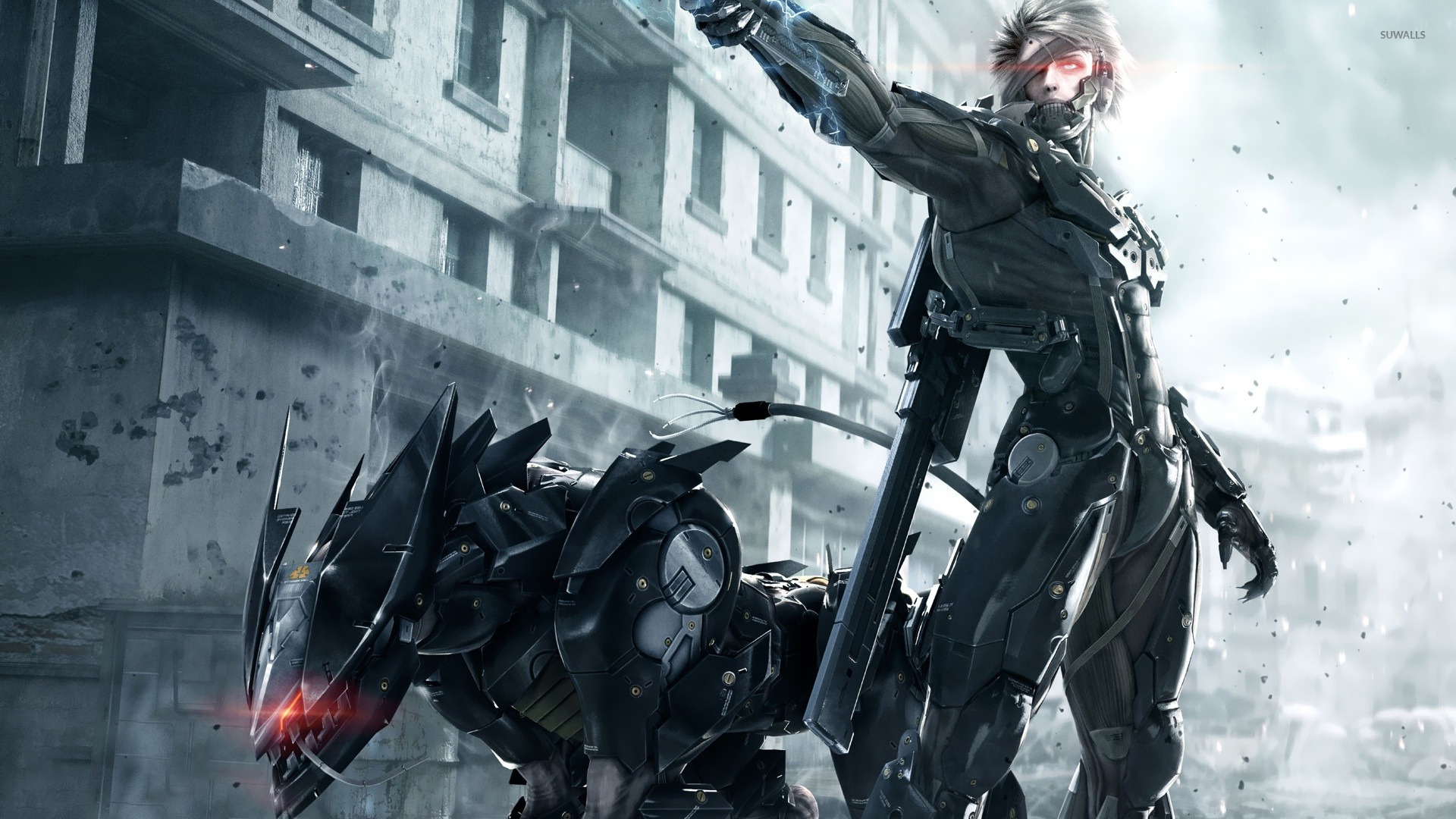 Raiden metal gear rising revengeance wallpaper game raiden metal gear rising revengeance wallpaper voltagebd Image collections