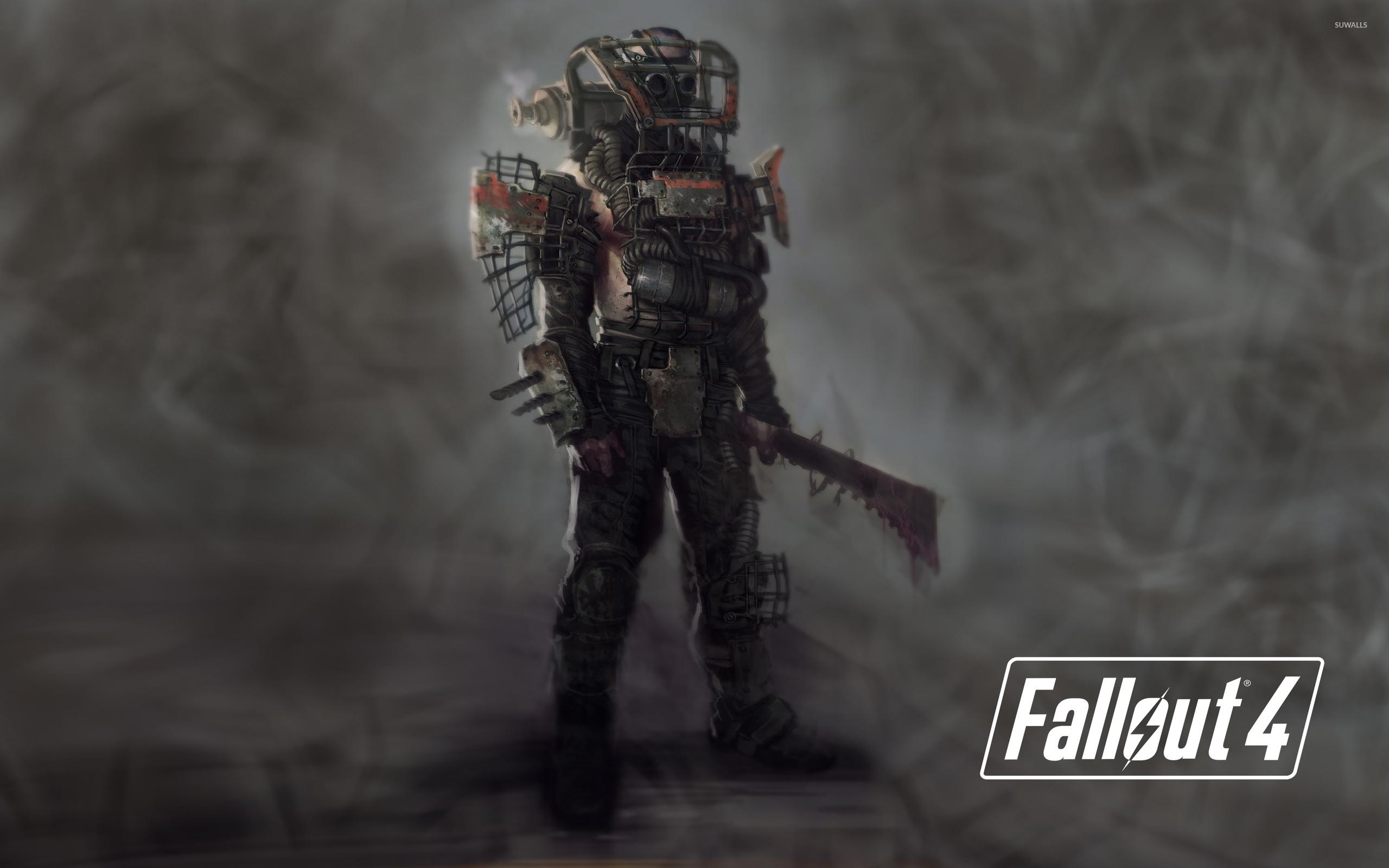 Raider In Fallout 4 Wallpaper