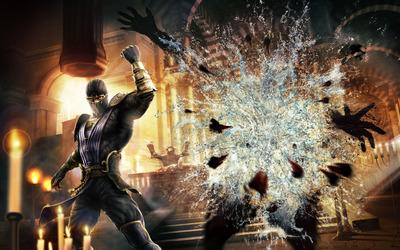 Rain - Mortal Kombat wallpaper