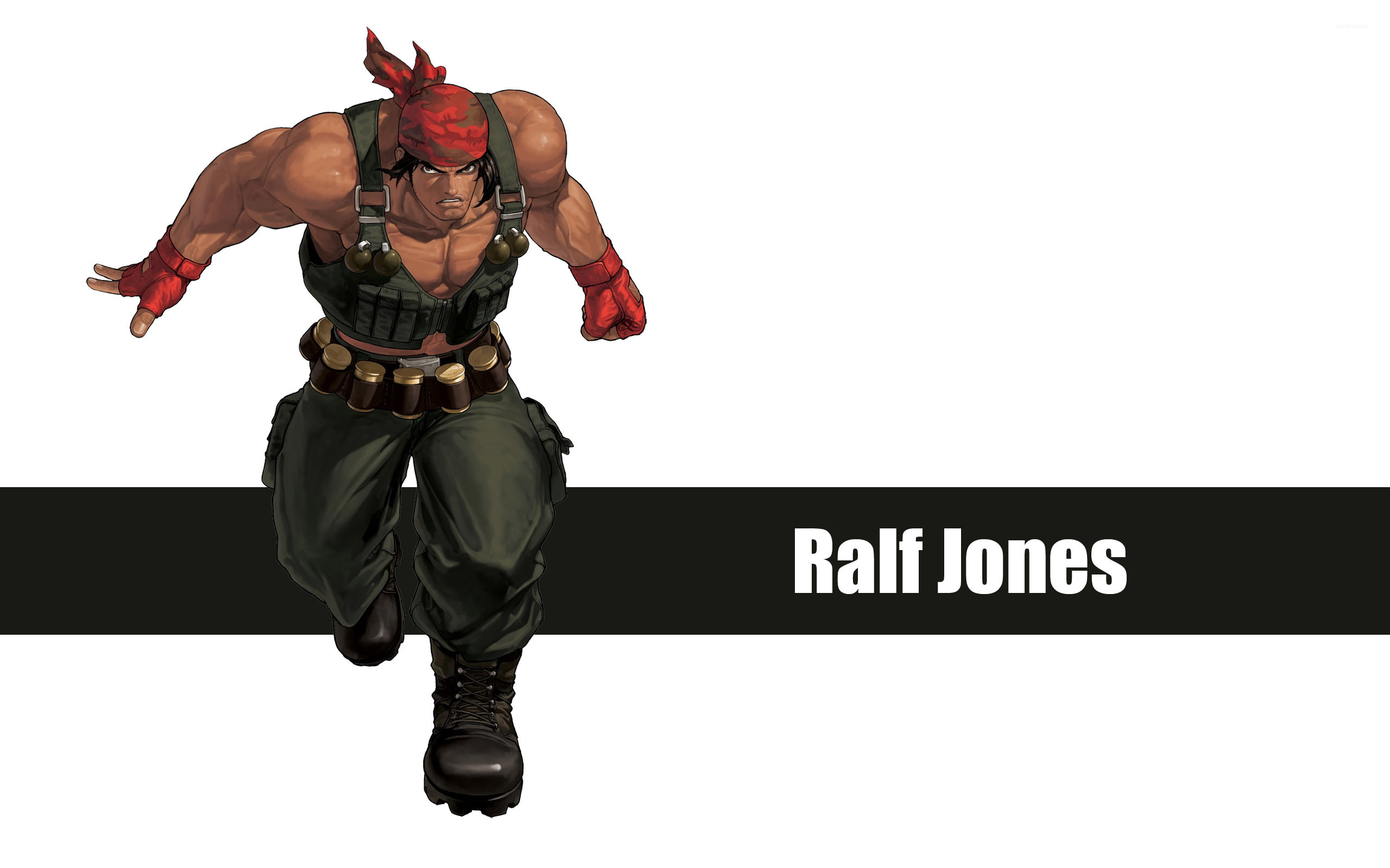 Ralf Jones The King Of Fighters Wallpaper Game Wallpapers 30530