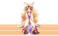 Ran Yakumo - Touhou Project wallpaper 2560x1440 jpg