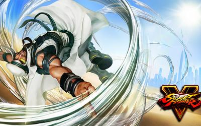 Rashid in Street Fighter V wallpaper
