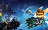 Ratchet & Clank: Full Frontal Assault wallpaper 2560x1440 jpg