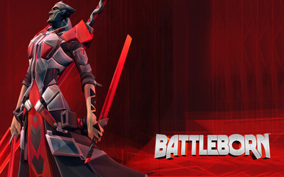 Rath with his sword - Battleborn wallpaper