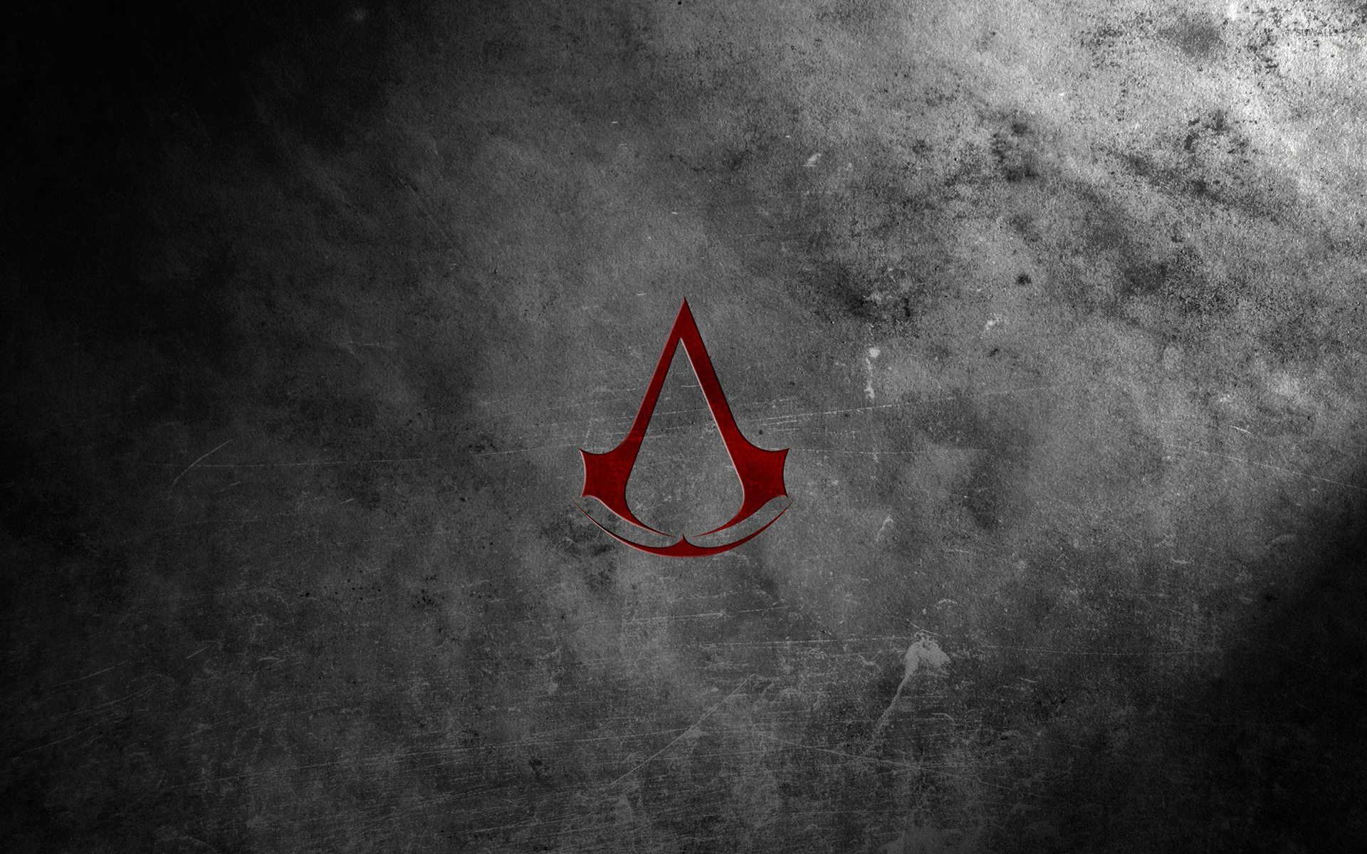 Red Assassin S Creed Logo Wallpaper Game Wallpapers 52005