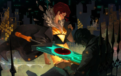Red - Transistor wallpaper