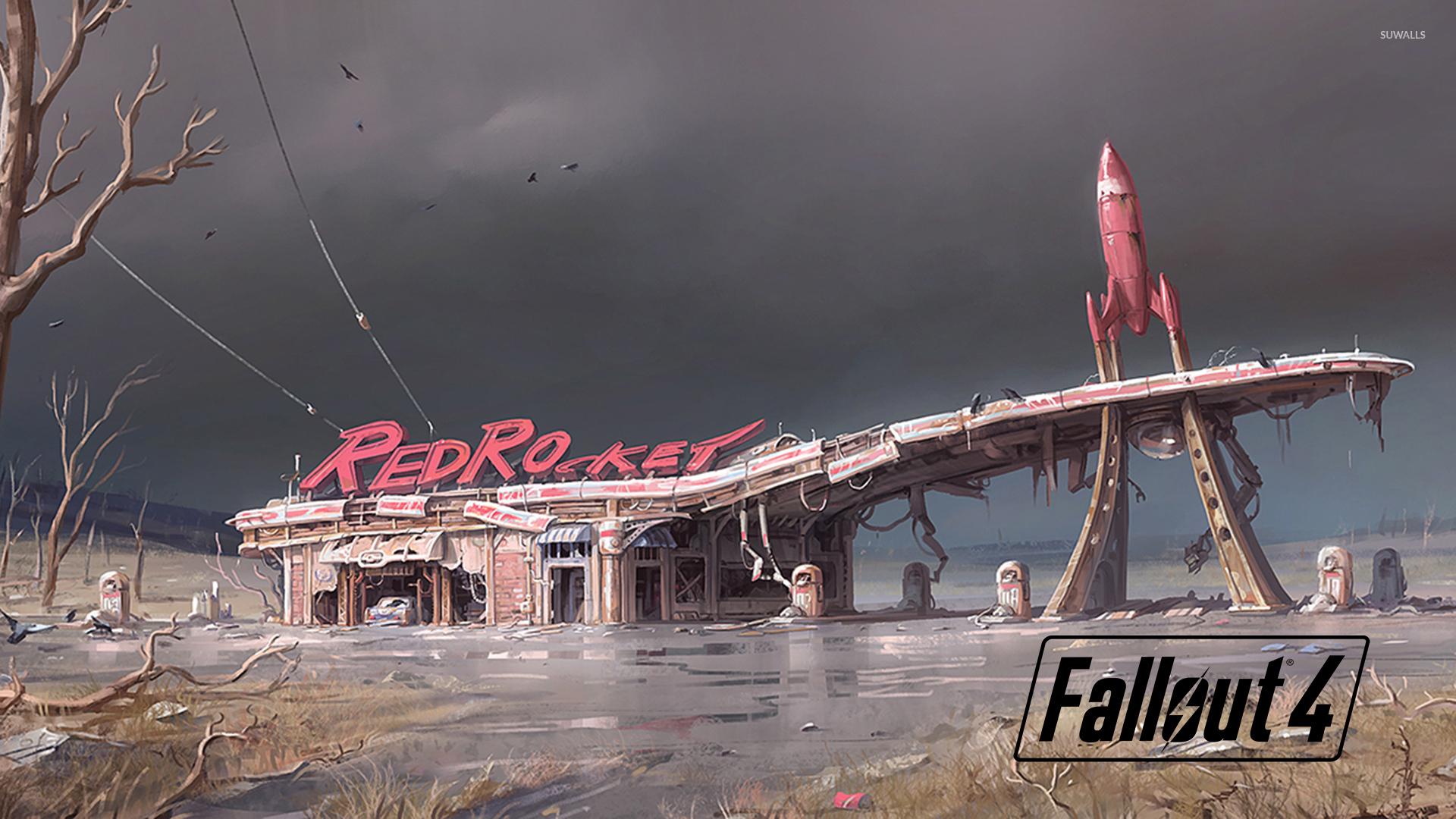 RedRocket In Fallout 4 Wallpaper