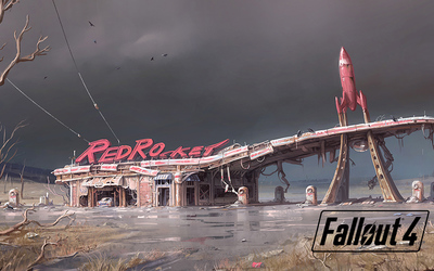 RedRocket in Fallout 4 wallpaper