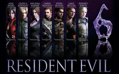 Resident Evil 6 [2] wallpaper