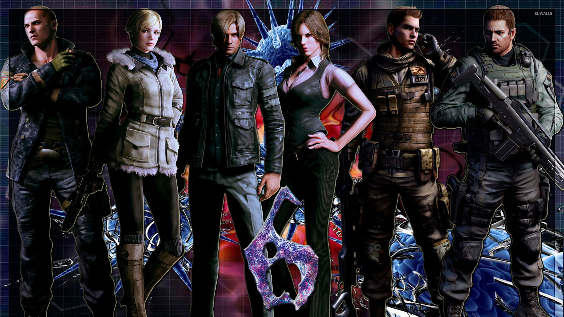 Resident Evil 6 4 Wallpaper Game Wallpapers 21065