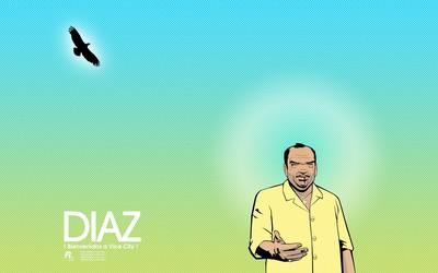 Ricardo Diaz welcoming you to Vice City wallpaper