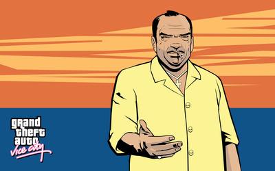 Ricardo Diaz with a yellow shirt wallpaper