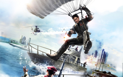 Rico Rodriguez - Just Cause 2 wallpaper
