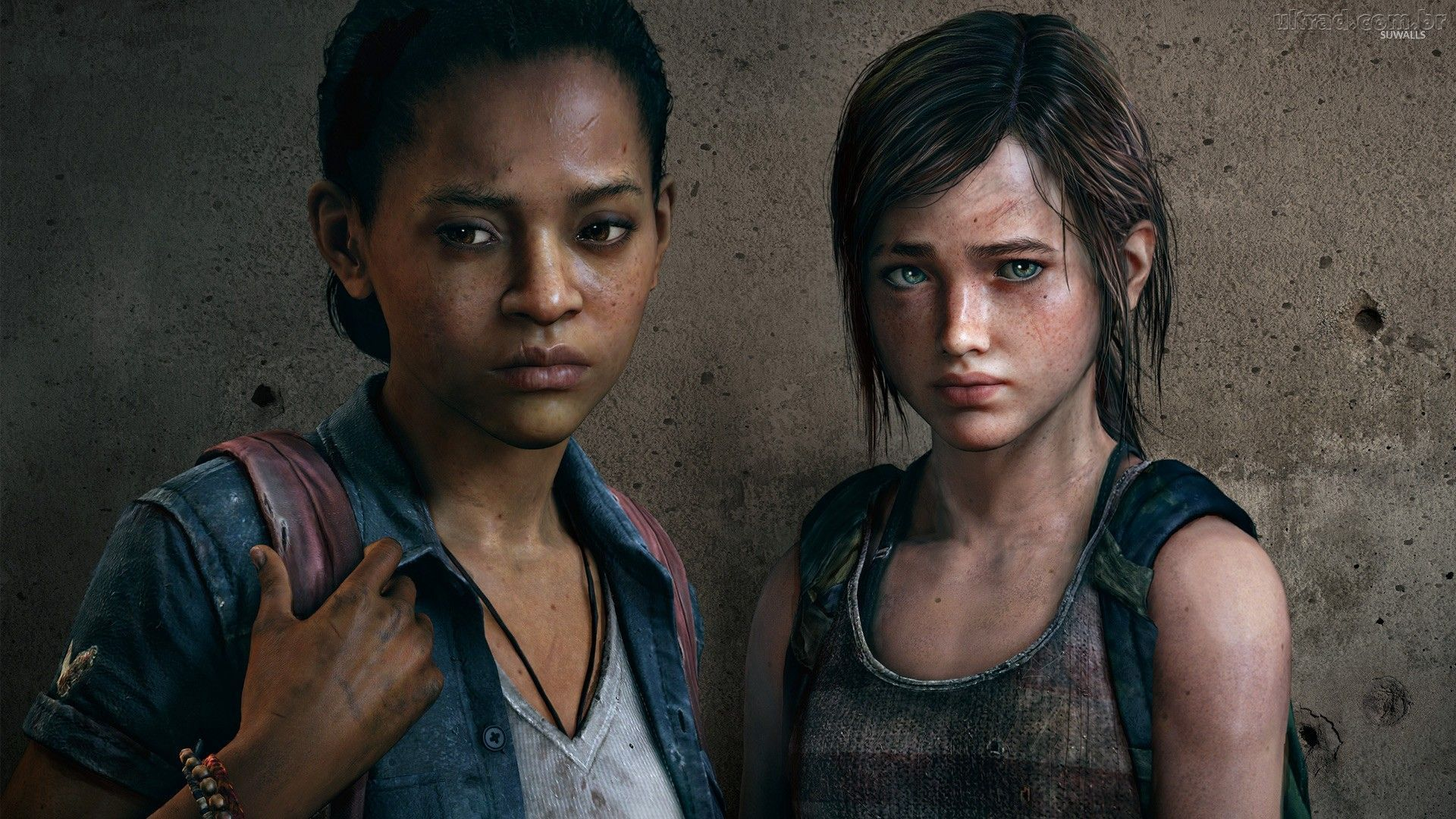 Riley And Ellie The Last Of Us Left Behind Wallpaper Game