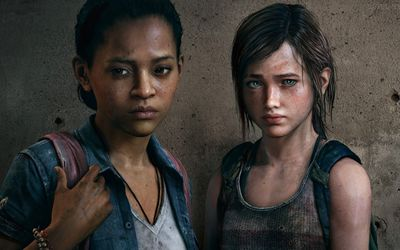 Riley and Ellie - The Last of Us: Left Behind wallpaper