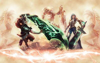 Riven - League of Legends wallpaper
