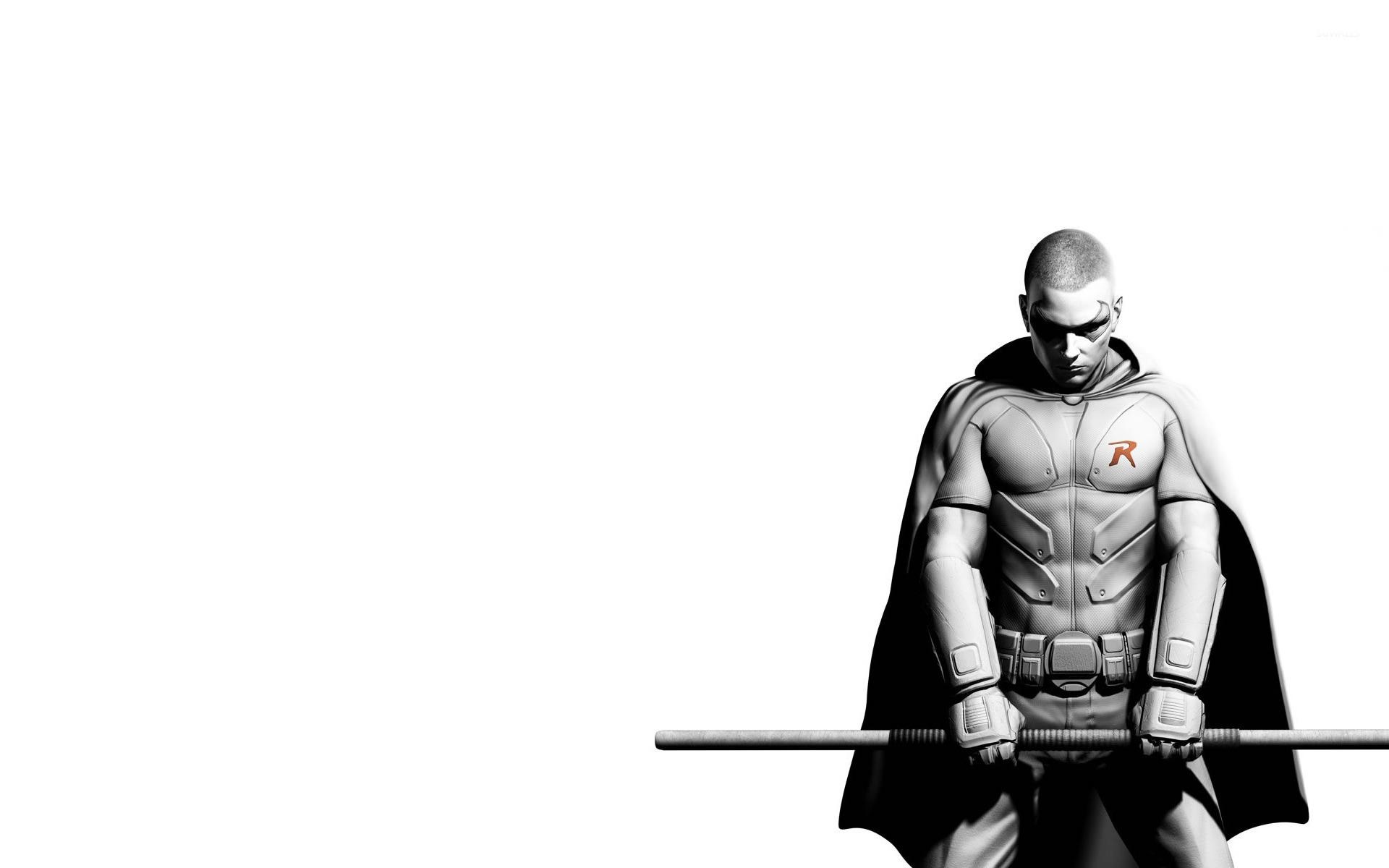 robin - batman: arkham city wallpaper - game wallpapers - #15806