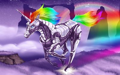 Robot Unicorn Attack wallpaper