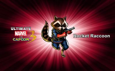 Rocket Raccoon - Ultimate Marvel vs. Capcom 3 wallpaper