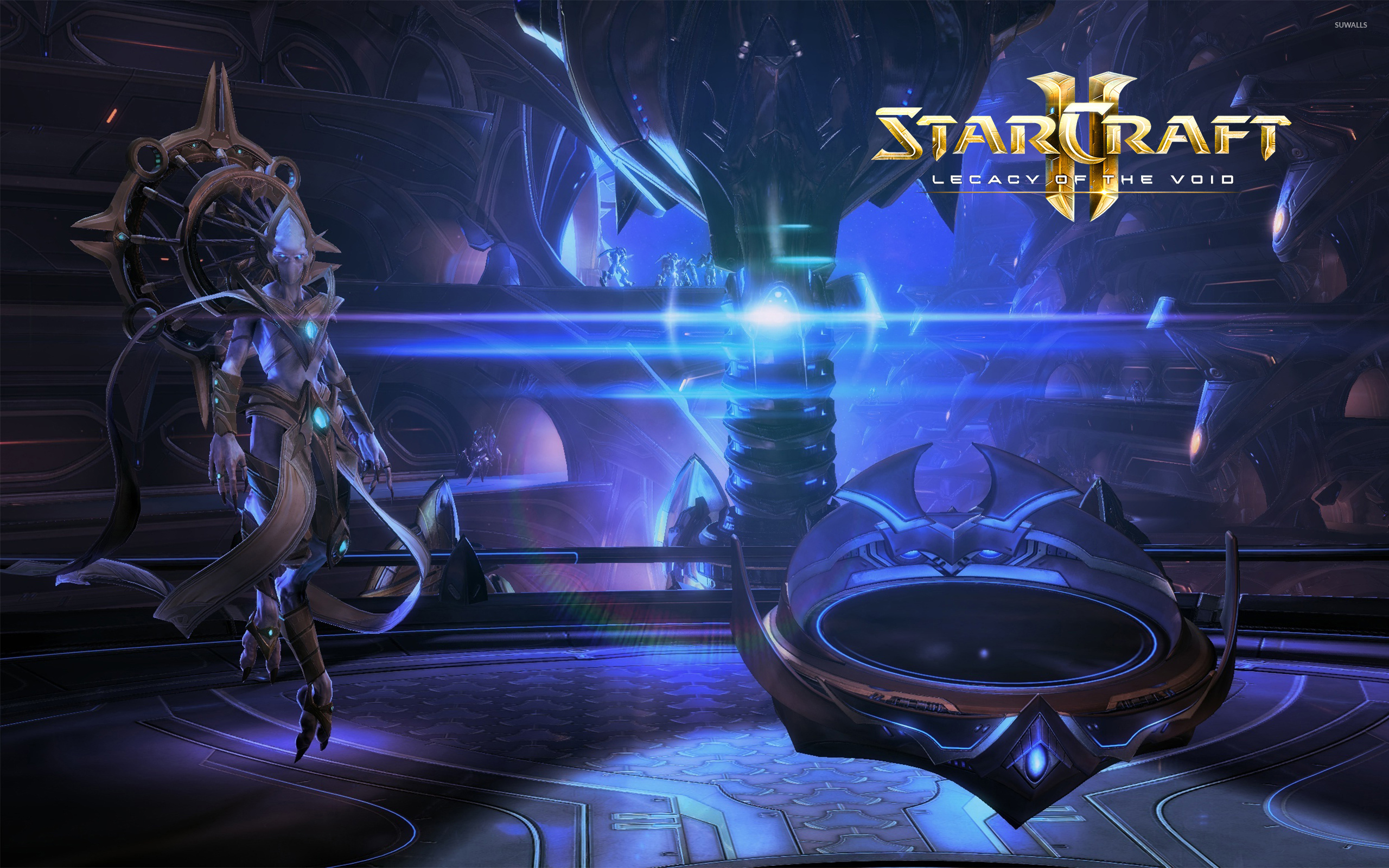 Rohana In Starcraft Ii Legacy Of The Void Wallpaper Game