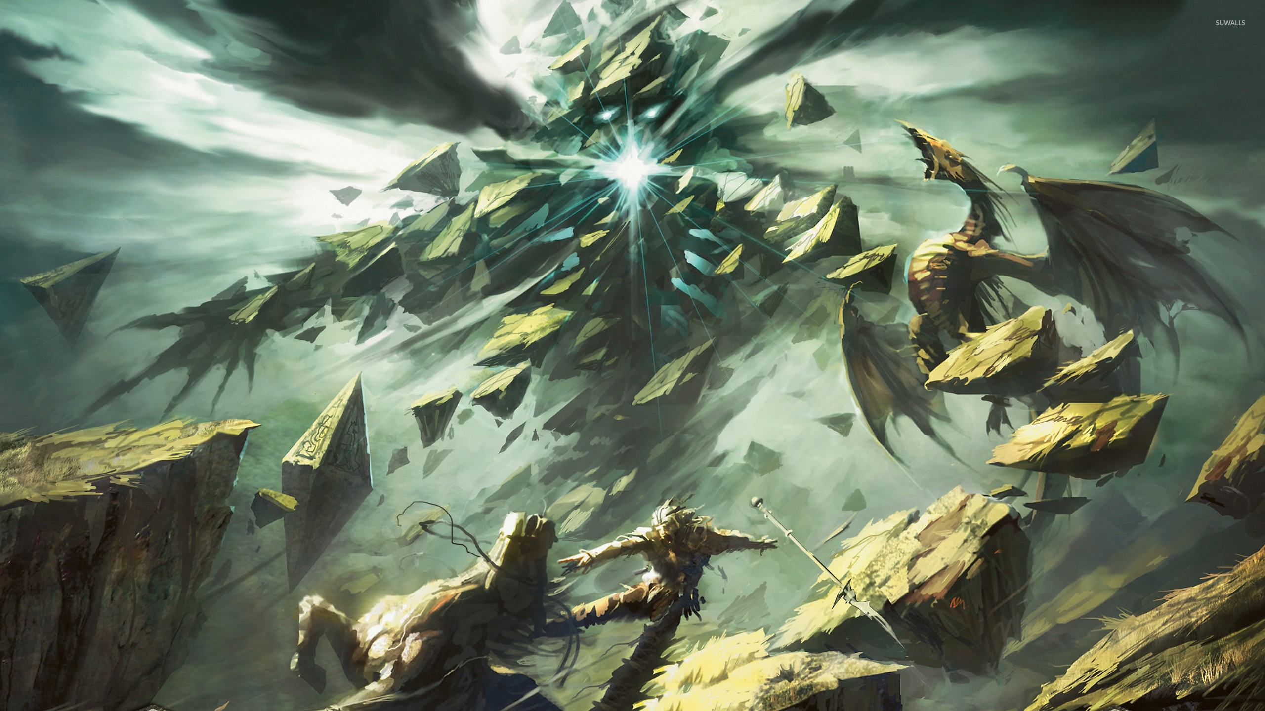 Roil Elemental - Magic: The Gathering wallpaper