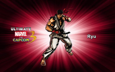 Ryu - Ultimate Marvel vs. Capcom 3 wallpaper
