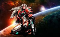 Samus Aran - Metroid [4] wallpaper 1920x1080 jpg