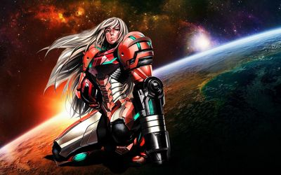 Samus Aran - Metroid [4] wallpaper