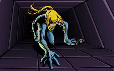 Samus Aran - Metroid: Zero Mission wallpaper