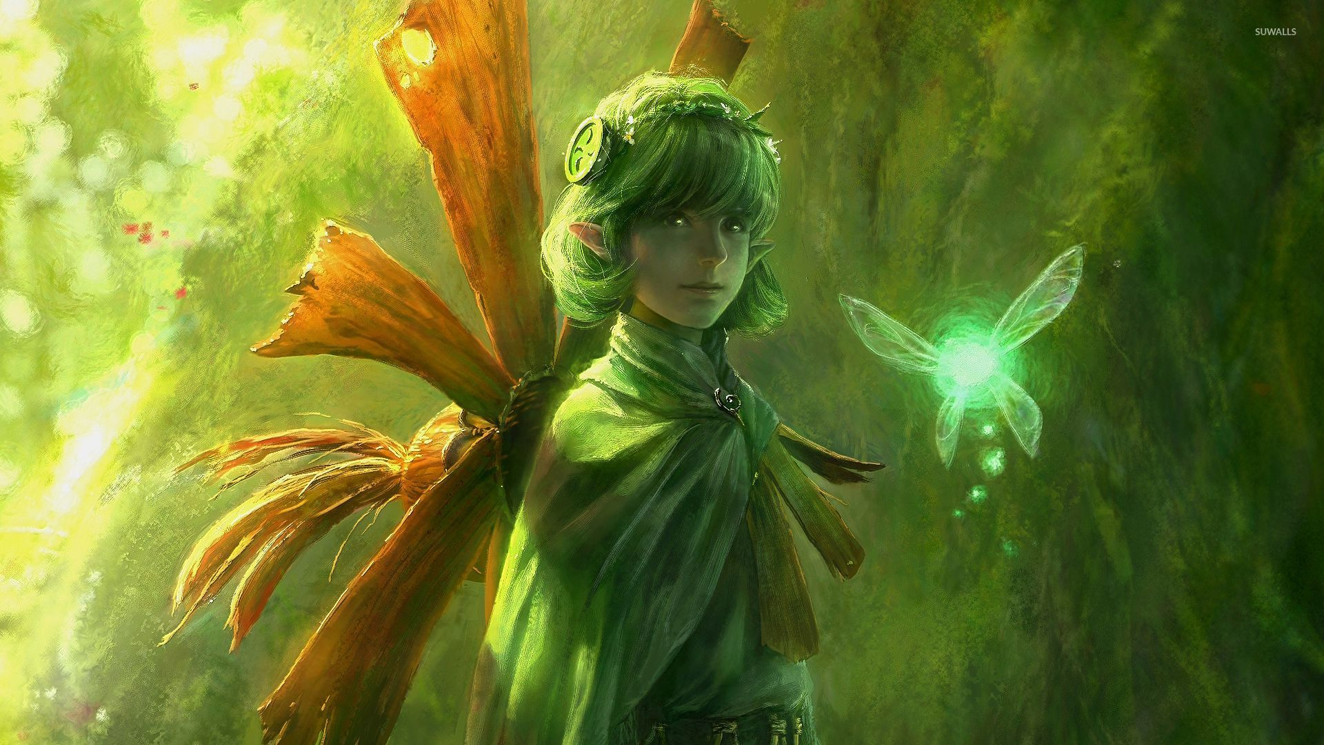 Saria The Legend Of Zelda Ocarina Of Time Wallpaper Game