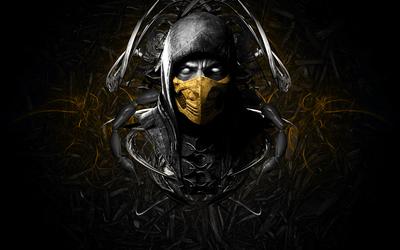 Scorpion King from Mortal Kombat wallpaper