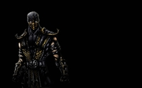 Scorpion - Mortal Kombat [2] wallpaper 1920x1200 jpg